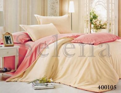 Постельное белье ТМ Selena поплин Ванильно-розовый