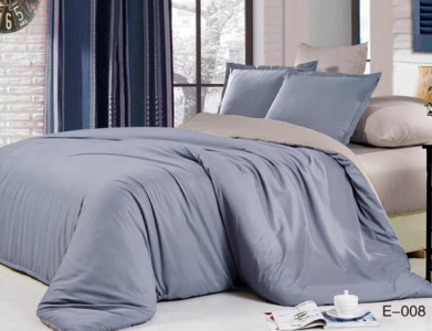 Постельное белье сатин ТМ Bella Villa B-0126 евро-размер