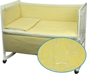 Детский постельный комплект ТМ Руно Медвежонок желтый
