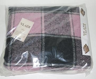 Плед ТМ Vladi Palermo серо-розовый 140х200
