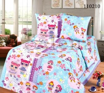 Подростковое постельное белье ТМ Selena бязь Куклы Lol 110210