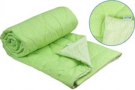 Одеяло летнее хлопковое ТМ Руно салатовое 172х205