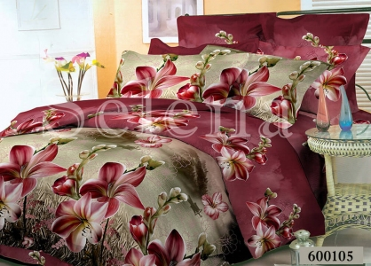Постельное белье ТМ Selena Лилея поликоттон Лилия 600105