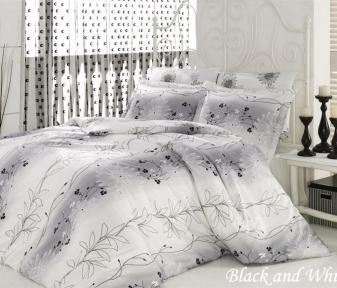 Постельное бельё ТМ Mariposa Black and white евро-размер