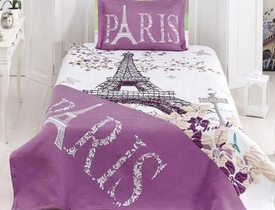 Покрывало с наволочкой ТМ First Сhoice Life Paris 180х240