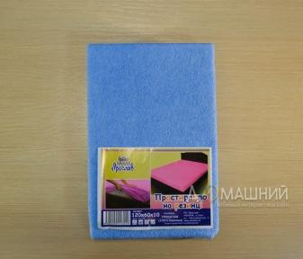 Детская простынь на резинке ТМ Ярослав 120х60см
