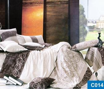 Постельное бельё ТМ Leleka-Textile сатин С014 евро-размер