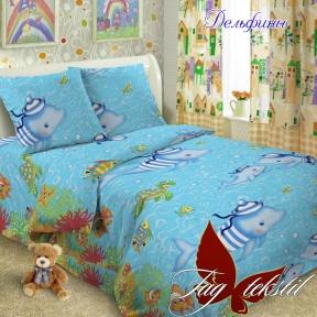 Подростковый постельный комплект ТМ TAG Дельфины