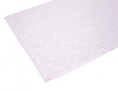 Полотенце махровое ТМ Arya жаккард бархатное Kai розовый