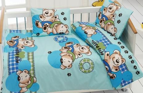 Детский постельный комплект ТМ Class ранфорс Ayicik v3