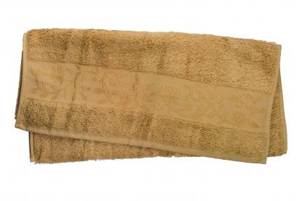 Полотенце ТМ Hanibaba Bamboo тёмно-бежевый