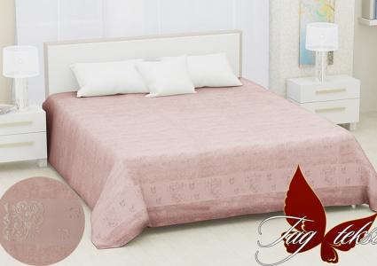 Простынь махровая ТМ Hanibaba бамбук Sarmasik light pink 200х220