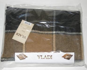 Плед ТМ Vladi Palermo коричнево-бежевый 140х200