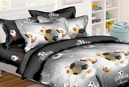 Подростковое постельное белье ТМ HomyTex Футбол 2