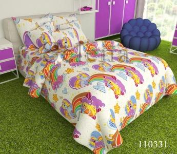 Подростковое постельное белье ТМ Selena бязь Пони 110331
