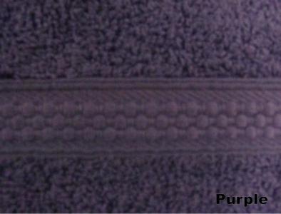 Полотенце махровое ТМ Arya Miranda лиловое 30Х50