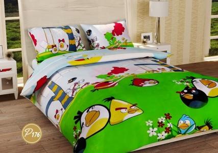 Подростковое постельное белье ТМ Лелека Текстиль ранфорс R176