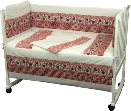 Детский постельный комплект ТМ Руно Славяночка красный