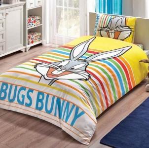 Подростковый постельный комплект ТМ TAС Bugs Bunny Stripe