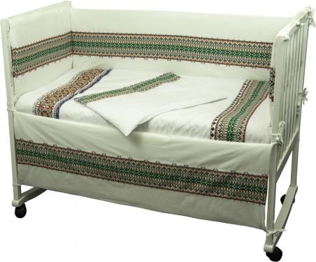 Детский постельный комплект ТМ Руно Славяночка зеленый