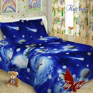 Подростковый постельный комплект ТМ TAG Космос