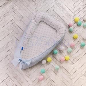 Кокон-позиционер ТМ Маленькая Соня Comfort мечта голубой