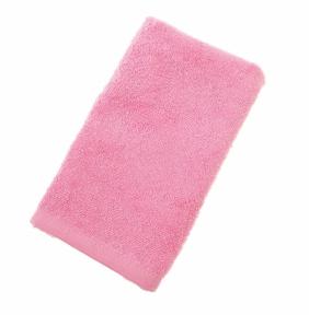Махровое полотенце Узбекистан 400г/м2 размер 40х70см розовое