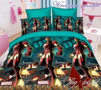Подростковый постельный комплект ТМ TAG Железный человек
