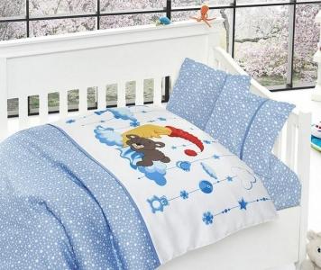 Детский постельный комплект ТМ First Сhoice Sleeper Mavi