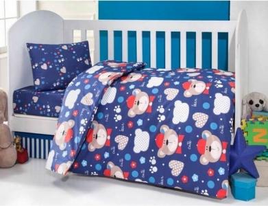 Детский постельный комплект ТМ TAС Brielle 457 Blue