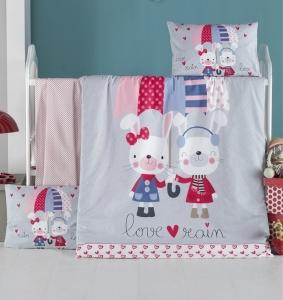 Детский постельный комплект ТМ LightHouse Love Rain