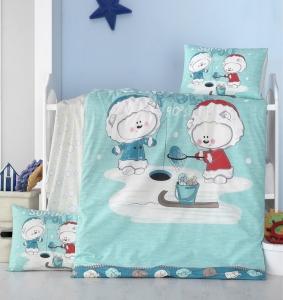 Детский постельный комплект ТМ LightHouse South Pole