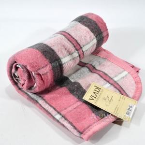Плед ТМ Vladi Лондон детский 100х140см розовый
