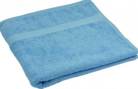 Полотенце махровое ТМ Руно голубое