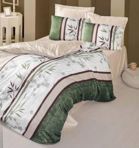 Постельное белье ТМ Victoria Sateen Bamboo Touch Anya евро-размер