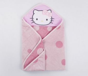 Полотенце-уголок для купания ТМ Lotus Kitty 01