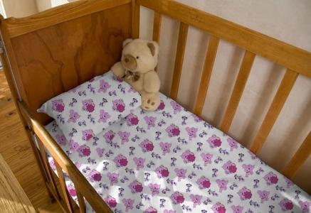 Детский постельный комплект ТМ Novita фланель 10-0241 pink