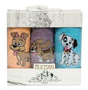 Набор полотенец кухонных 3шт ТМ Gulcan Dogs 04 30х50