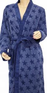 Халат из вискозы ТМ Arya Asteri Blue женский