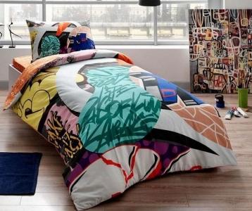 Подростковый постельный комплект ТМ TAС Graffiti easy