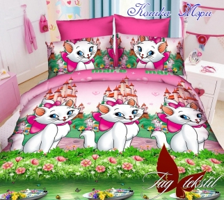 Подростковый постельный комплект ТМ TAG Кошка Мэри