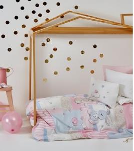 Постельное бельё ТМ Karaca Home детский Honey Bunny Pembe