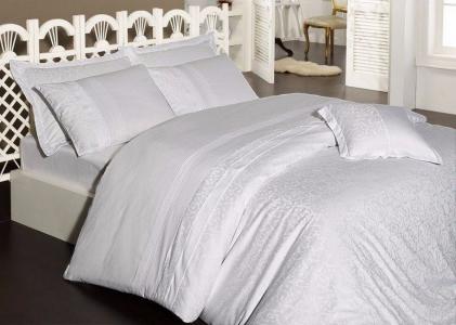 Постельное белье ТМ First Choice сатин-люкс Afrodit beyaz евро-размер