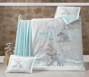 Детский постельный комплект ТМ Luoca Patisca Rabbit