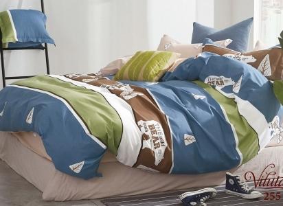 Подростковое постельное белье ТМ Вилюта сатин-твил 255