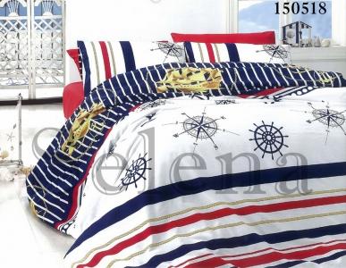 Подростковое постельное белье ТМ Selena бязь-light Вояж 150518