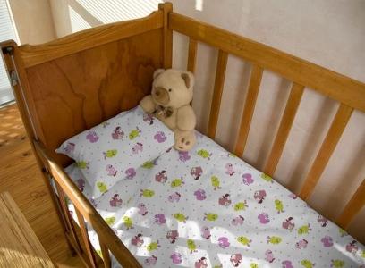 Детский постельный комплект ТМ Novita фланель 10-0238 pink