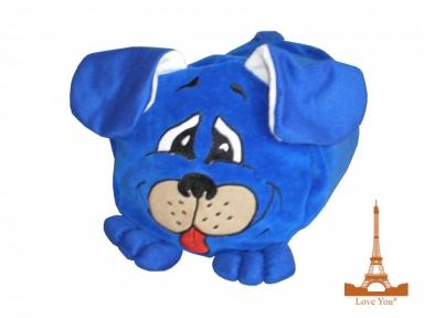 Подушка-игрушка ТМ Love You Синяя собачка