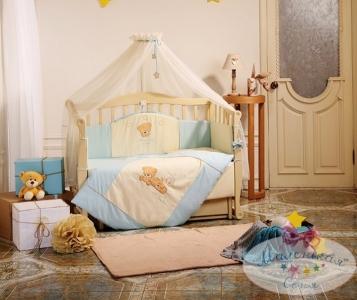 Детский набор из 7 предметов ТМ Маленькая Соня Tiny Love голубой