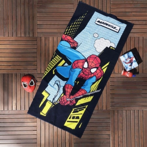 Полотенце пляжное ТМ TAC Spider-Man comics 75х150